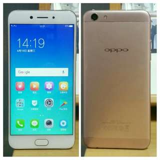 🚚 95% New Oppo A77 64G 3G+4G Dual Sim Rose Gold