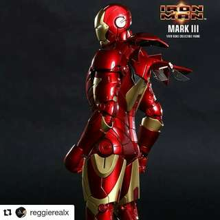 HotToys IronMan MMS 256 D 07 Mark III