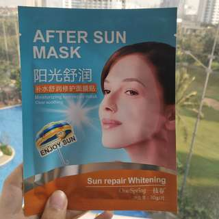 One Spring After Sun Mask Import ORIGINAL