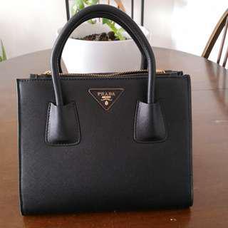 Prada Saffiano black bag