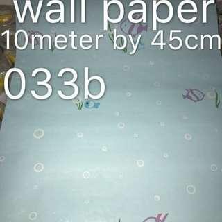 Fish Wallpaper Self Adhesive C033B