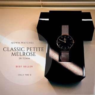 DW Classic/Black Petite (melrose/sterling) ORI💯