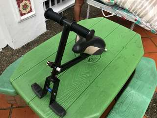 Kids seat for foldable bike