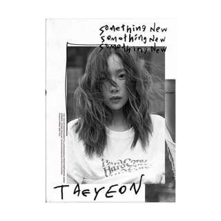 [PRE-ORDER] TAEYEON 3RD MINI ALBUM