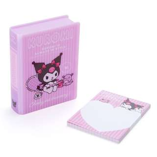 Japan Sanrio Kuromi Book type Case Memo