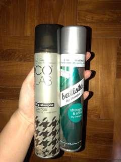 Co lab (London Scent) + Batiste (Strength & Shine) Dry Shampoo (200ml)