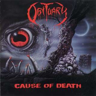 Obituary – Cause Of Death CD (Remastered)