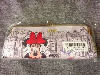 💎 Disney Mickey Minnie Mouse 🐭 pencil case 筆袋 眼鏡袋 袋妝掃袋 散子包型袋