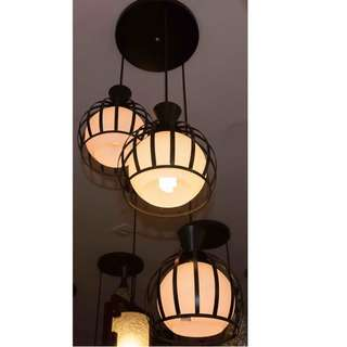 LSH Decorative Pendant Ceiling Light 13608/3