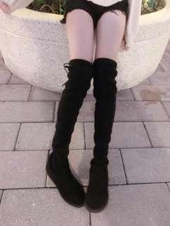 🚚 轉售Taipei current過膝長靴