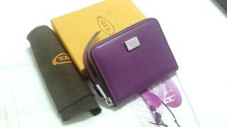 Tods compact wallet