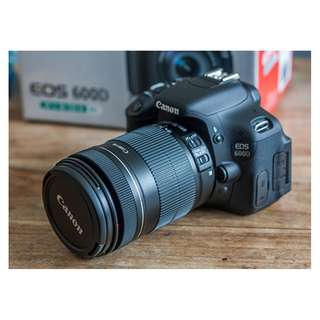 Canon 600D (Almost New) to let go ASAP