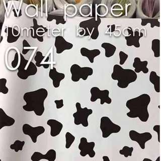 Spots Prints Kids Room Wallpaper Self Adhesive C074