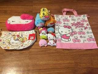 Original Sanrio Hello Kitty Bags & Keychains