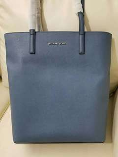 Michael Kors Denim Lg Hayley NS TZ Tote From US
