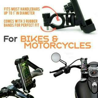 PROMOTION - Motorbike 360 Degree Rotating Motorcycle/Bicycle Mount Mobile Phone