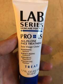 Pro LS all in one face treatment Lab Series