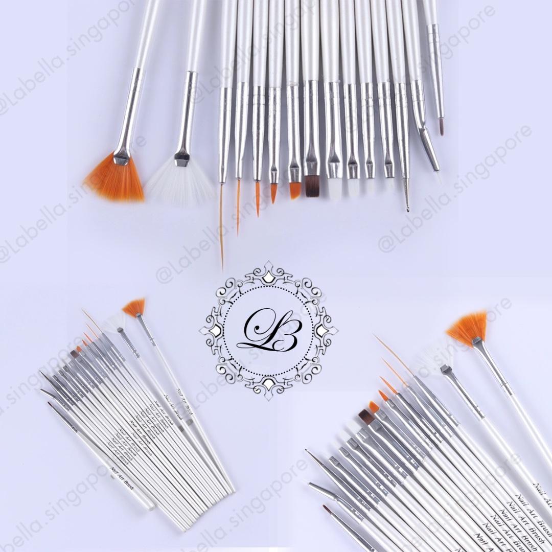 15pcs Nail Art Design Brush Set Dotting Brush Liner Dot Tools