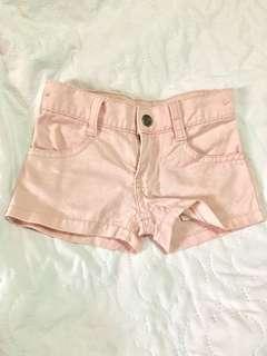 Peach shorts
