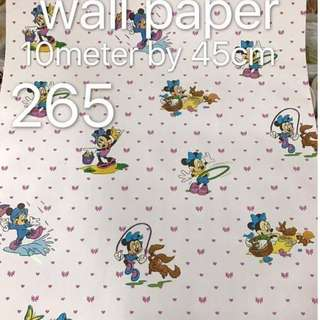 Minnie Mouse Wallpaper Self Adhesive C265