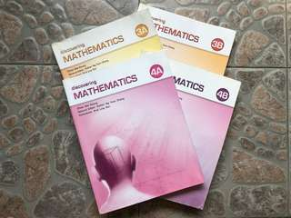 Discovering Mathematics Textbook