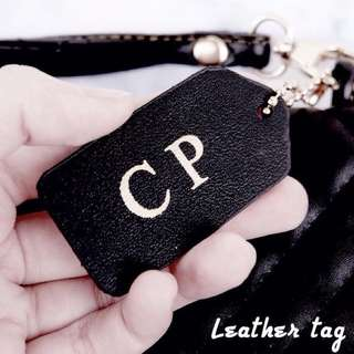 CUSTOM LEATHER TAG