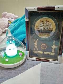 Totoro night light, key box