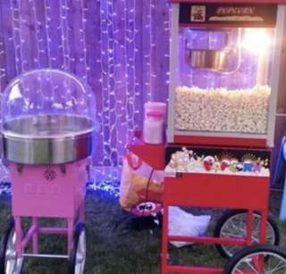POPCORN & COTTON CANDY LIVE BOOTH