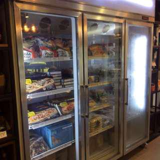3門商用冷凍雪櫃,性能良好,只用1年