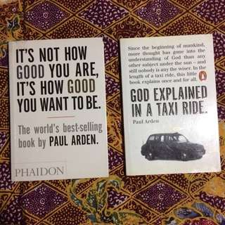 [IMPORTED BOOKS] 2 preloved books by Paul Arden