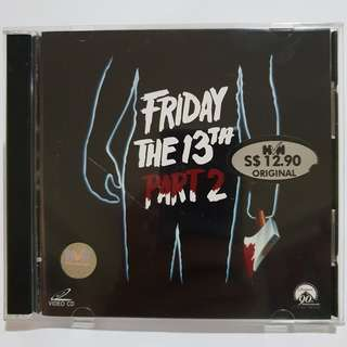 Friday The 13th Part 2 VCD