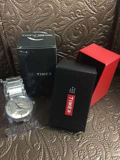 TIMEX Limited Edition City of Dreams Silver Watch