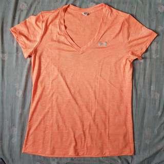 Orange Under Armour Shirt