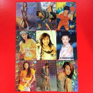 Yes Card 日本女星 9張合售