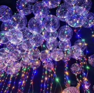 LED TRANSPARENT BALLOON