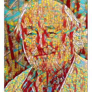 Make a Beautiful Mosaic Portrait From Your Photo in my style