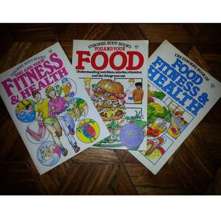 Food Fitness Health Books