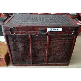 Vintage Woven Decorative Box (D-MOI-02)