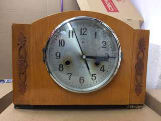 Refurbished vintage Art Deco clock