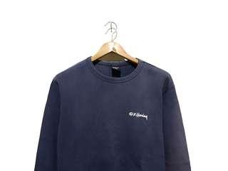 Crewneck sweater sweatshirt Keith Haring Navy
