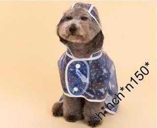 小狗雨衣,寵物雨褸