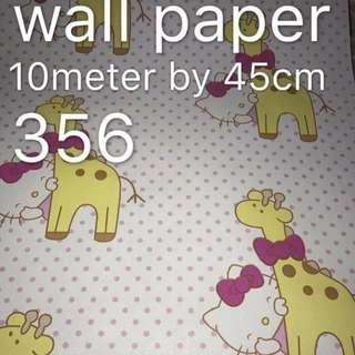 Hello Kitty Wallpaper Self Adhesive C356