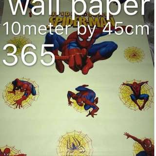 Spiderman Wallpaper Self Adhesive C365
