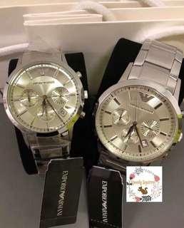 Emporio Armani Watch (AR2458,AR2459)