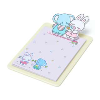 Japan Sanrio Cheery Chums Mini Clipboard & Memo