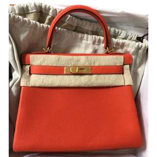 Authentic Hermes Kelly 28