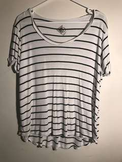 Striped Loose-fit top