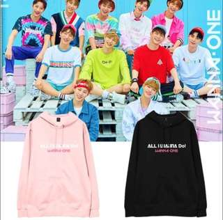 PO: WANNA ONE ALL I WANNA DO INSPIRED HOODIE