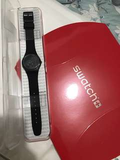 Swatch NEW black