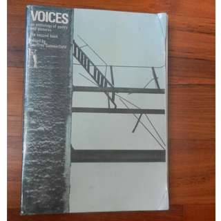 'Voices: An anthology of poetry and pictures - The second book' edited by Geoffrey Summerfield